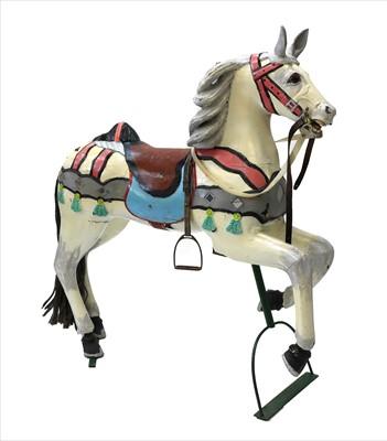 Lot 11-CAROUSEL HORSE