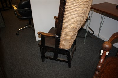 Lot 20-An Orkney chair