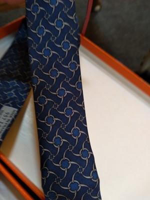 Lot 246 - An Hermès tie