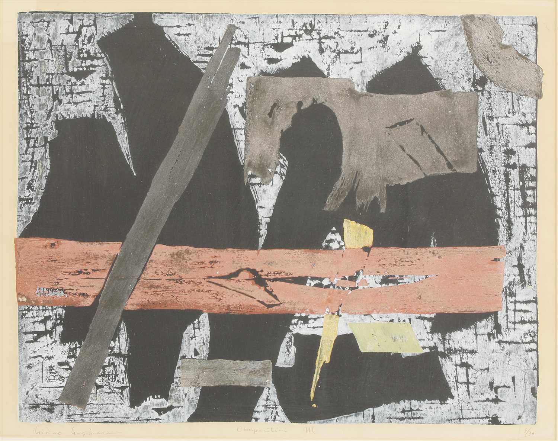 Lot 49-Hideo Hagiwara (Japanese, 1913-2007)