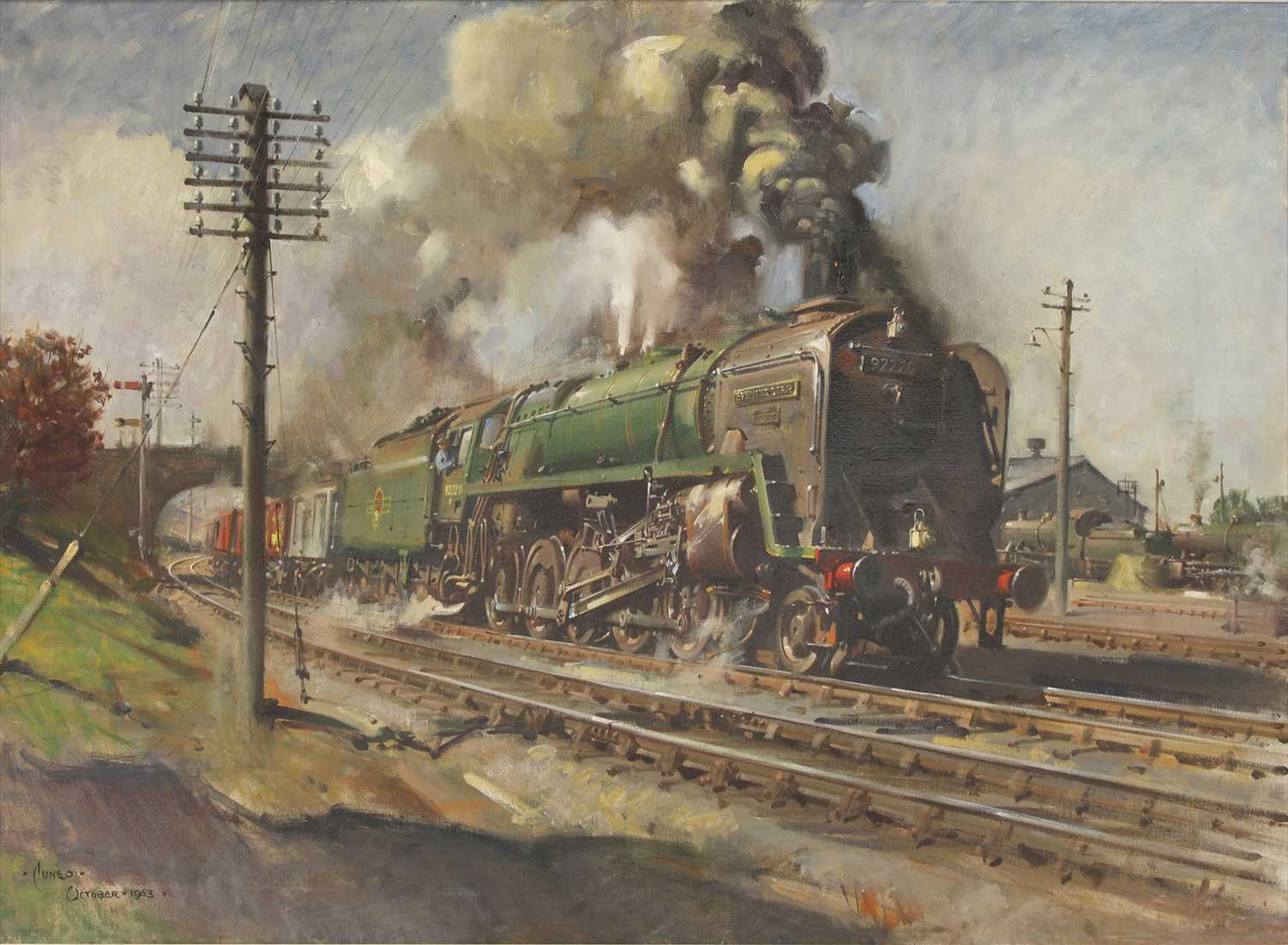512 - *Terence Cuneo (1907-1996)