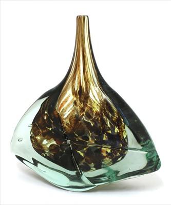 Lot 354 - A Mdina glass vase