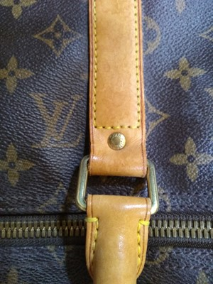 Lot 430 - A Louis Vuitton monogrammed canvas Keepall 50 holdall