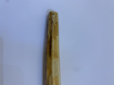 Lot 179 - A rare mammoth ivory pipe