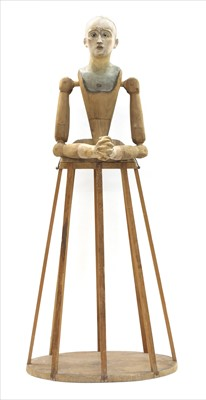 Lot 49-A pine Santos figure
