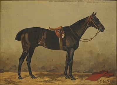 Lot 1-Emil Volkers (German, 1831-1905)