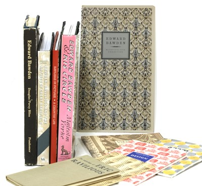 Lot 17-Ten books and pamphlets on Edward Bawden and Eric Ravilious