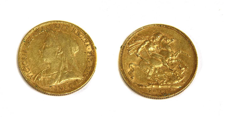 Lot 11-Coins, Great Britain, Victoria (1837 - 1901)