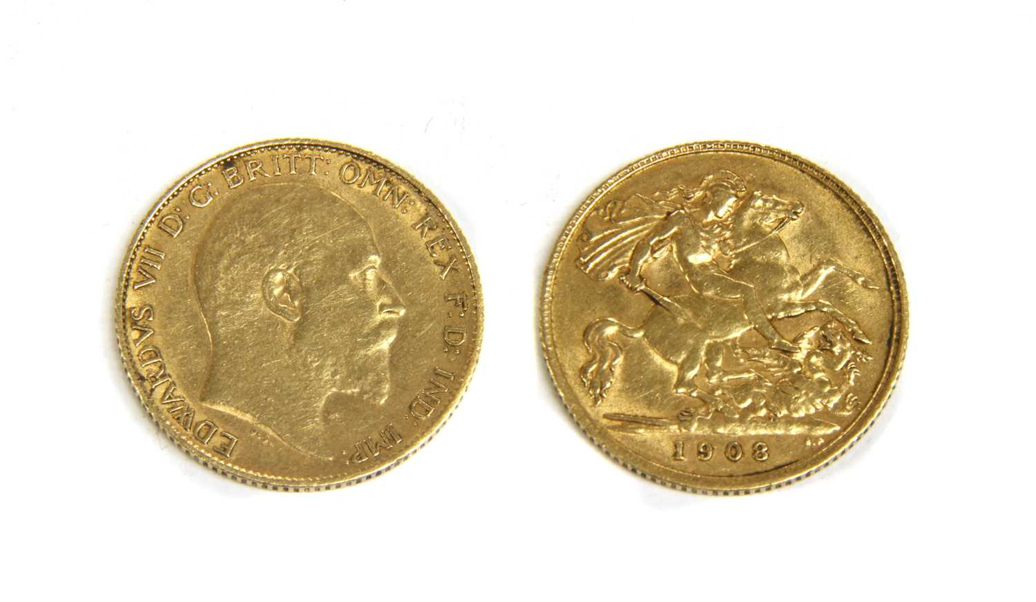 Lot 23-Coins, Great Britain, Edward VII (1901-1910)