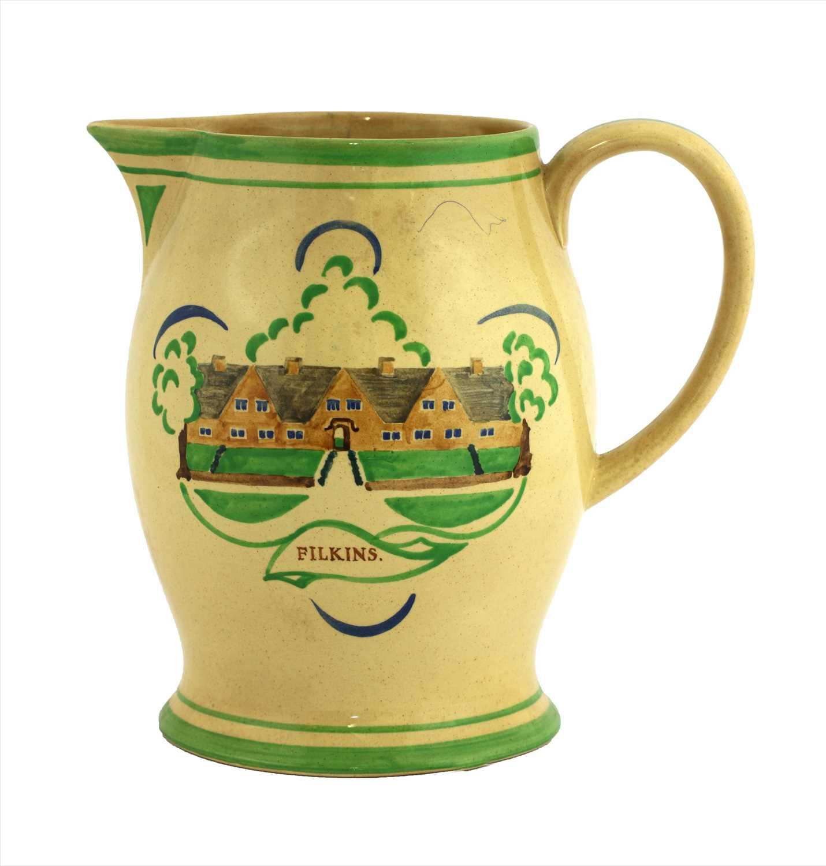 Lot 412 - An Ashtead Potters' commemorative jug