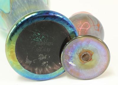 Lot 88 - A collection of Art Nouveau-style glass vases