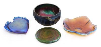 Lot 97 - A John Ditchfield studio glass bowl