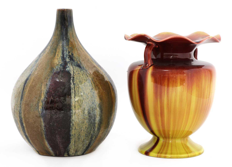 Lot 60 - A Linthorpe pottery vase