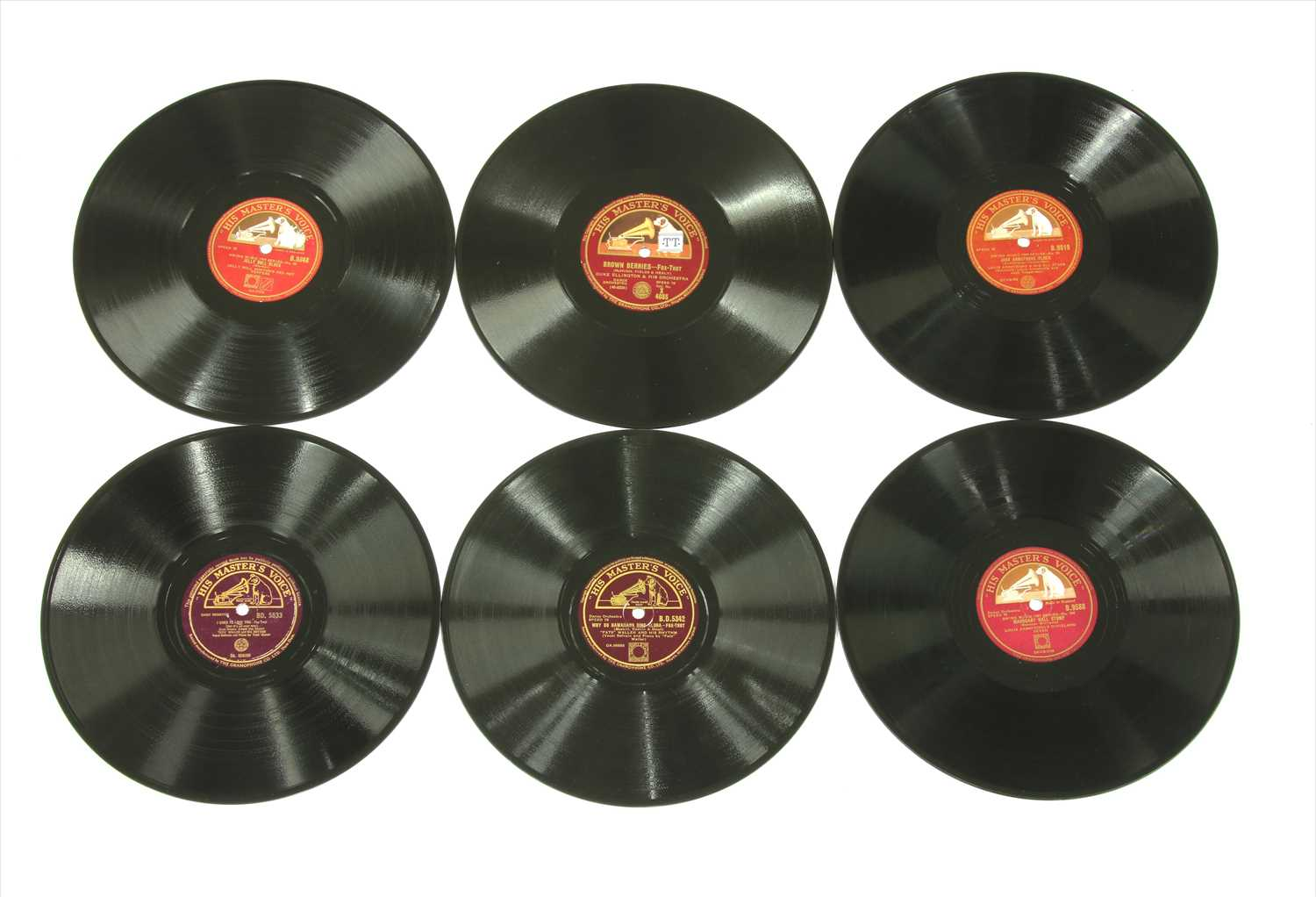 Lot 21-HMV (10in) Shellac