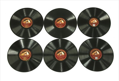 Lot 25-HMV (10in) Shellac