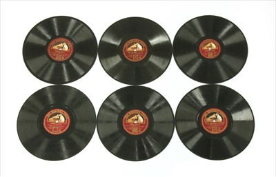 Lot 39-HMV Various Artists (10in) Shellac