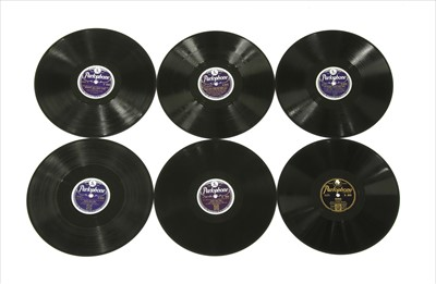 Lot 17-Parlophone (10in) Shellac