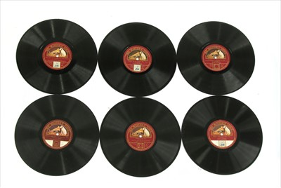 Lot 42-HMV (10in) Shellac