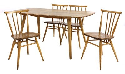 Lot 74-An Ercol dining table