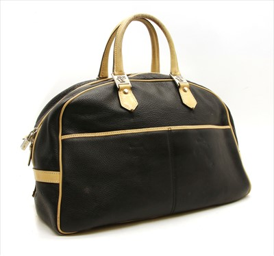 Lot 1021-A Versace 'Medusa head' weekend bag