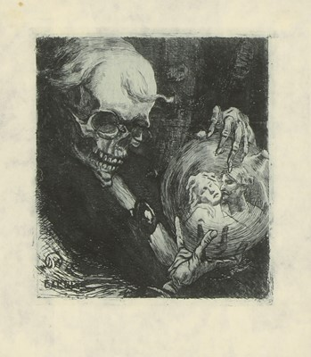 Lot 9 - SCENES OF THE OCCULT