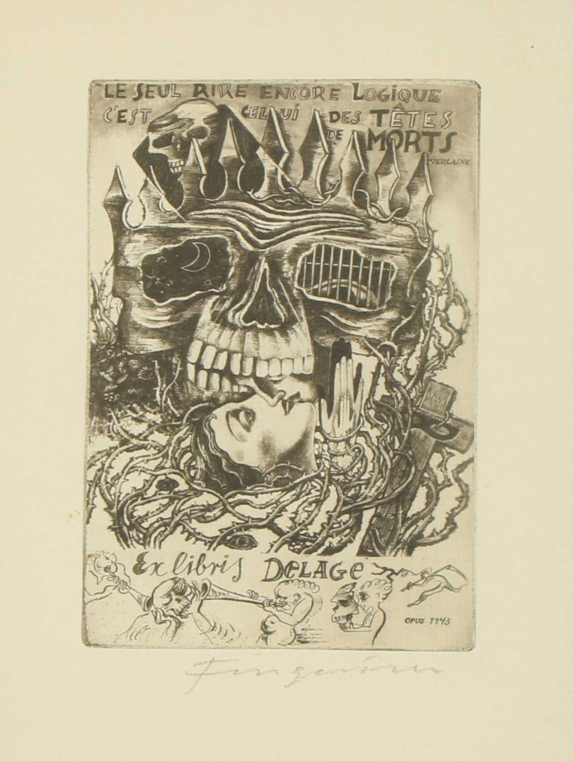 Lot 8 - SCENES OF THE OCCULT