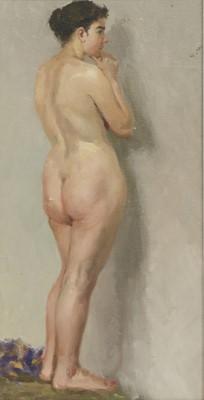Lot 3-Alexandr Filippovich Burak (Russian, b.1921)