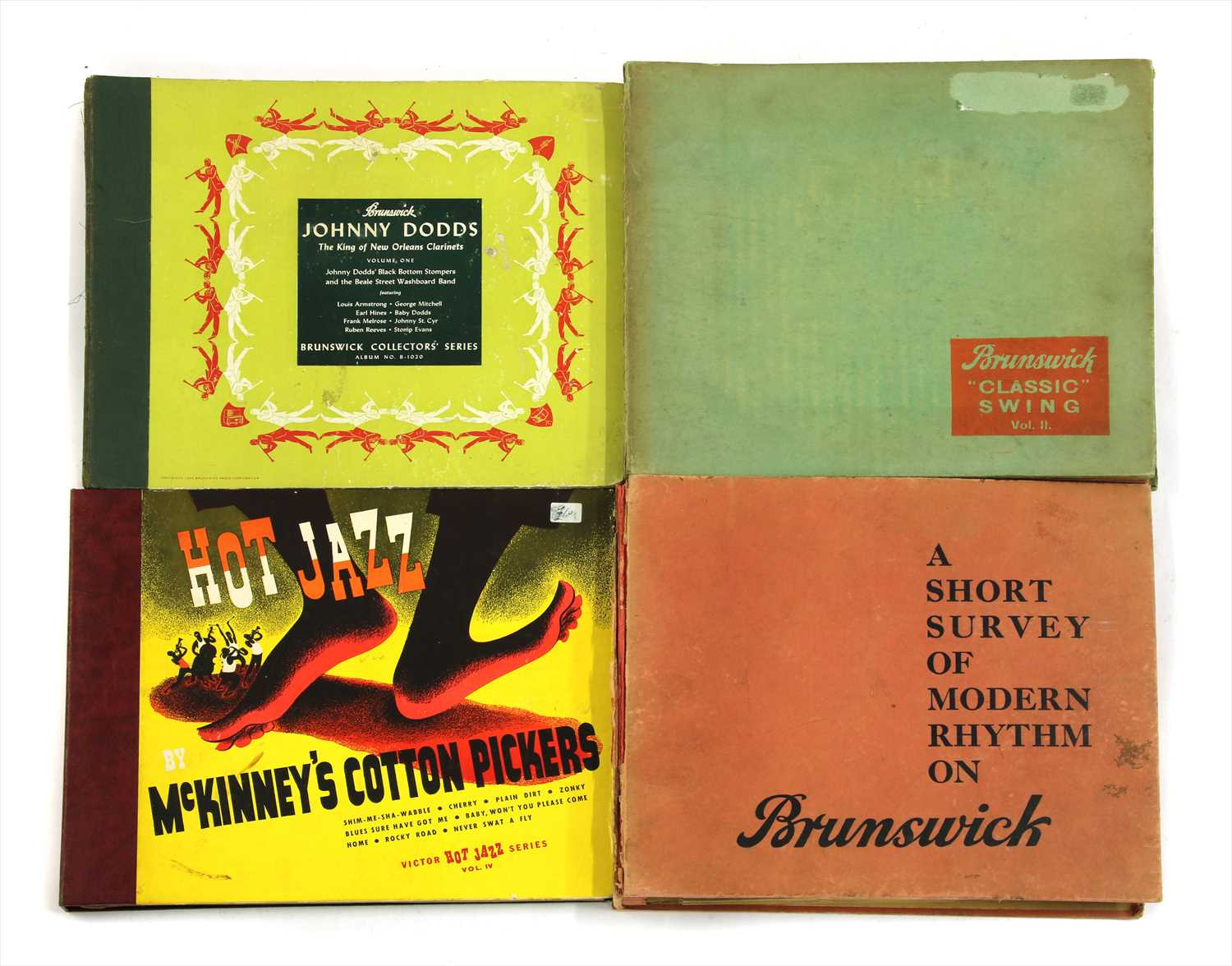Lot 5 - 10in Shellac Compilation Boxes/Collections etc.