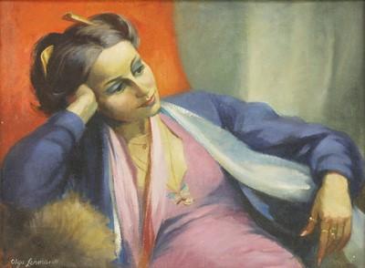 Lot 33-*Olga Lehmann (German, 1912-2001)