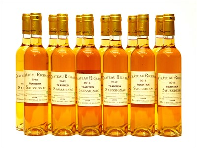 Lot 18-Château Richard, Saussignac, Tradition, 2012, twelve half bottles (two boxes of six)