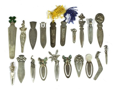 Lot 79 - Twenty novelty bookmarks