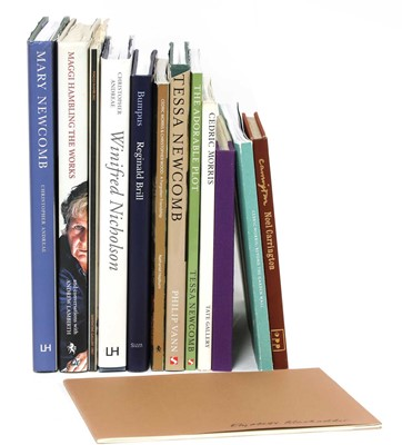Lot 7 - Thirteen books on artists