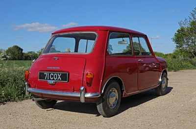 Lot 3 - 1960 Morris Mini Minor De-Luxe Saloon
