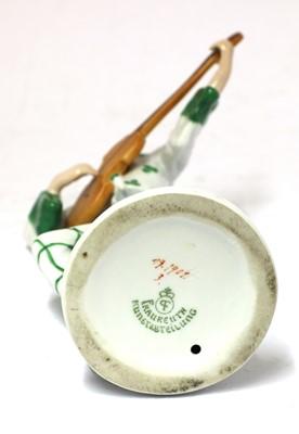 Lot 409 - A Fraureuth Kunstabteiling porcelain figure