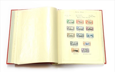 Lot 11-The Simplex album with Commonwealth stamps