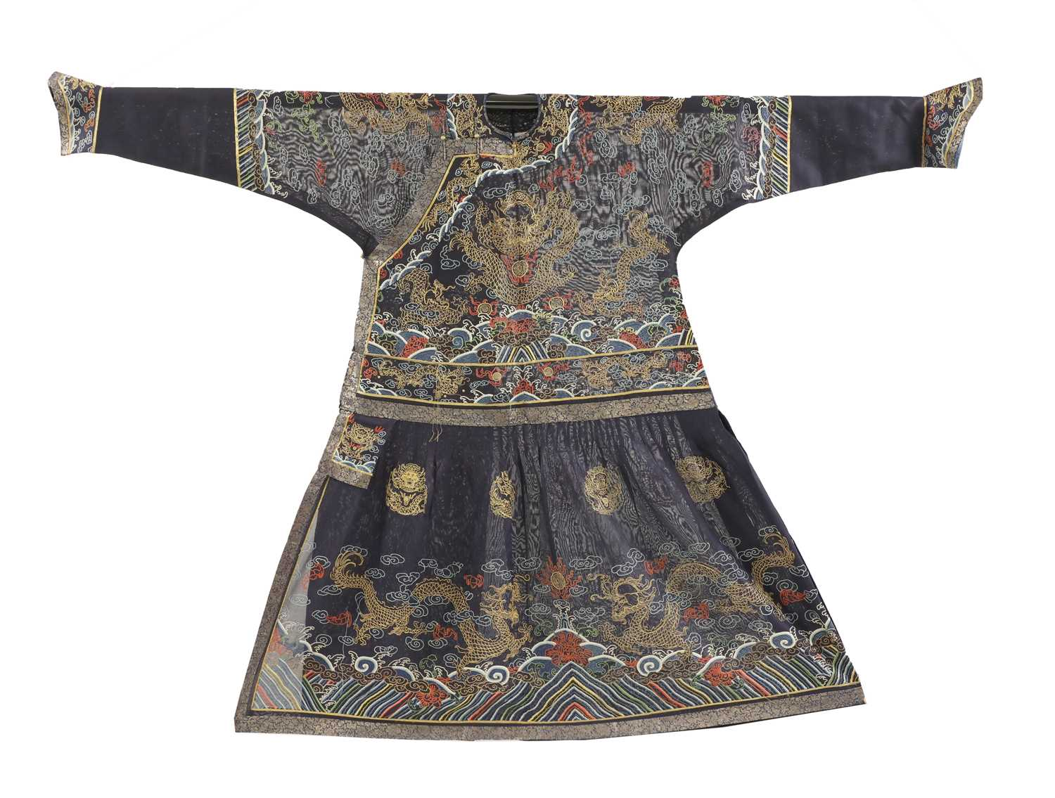99 - A Chinese embroidered chaofu,