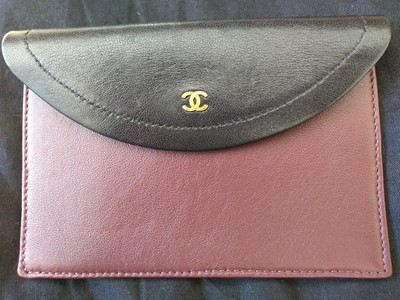 Lot 410 - A Chanel black chevron flap bag