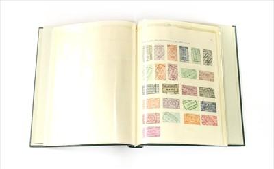 Lot 12-An album of Belgium Railway stamps