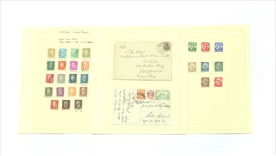 Lot 13-A German collection on 50 plus leaves