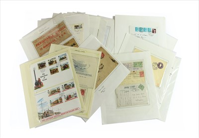 Lot 25-A quantity of mixed pre stamp covers