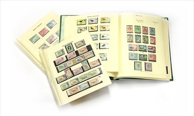 Lot 22-Commonwealth KGV to early QEII mainly mint issues