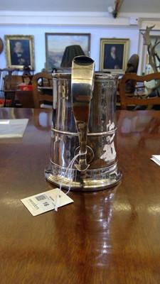 Lot 16-A George III silver mug