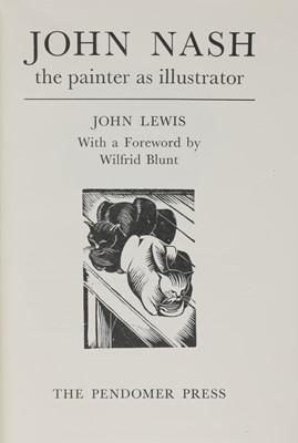 Lot 10-Eight books on John and Paul Nash
