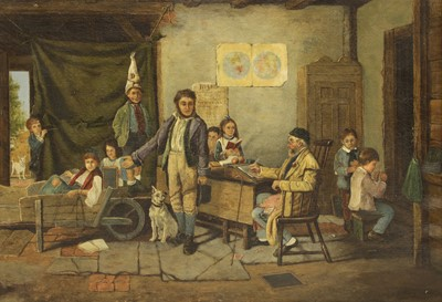 Lot 630 - Edward King (fl.1884-1904), My son, the truant, oil on canvas