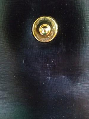 Lot 1013-A Launer black leather handbag