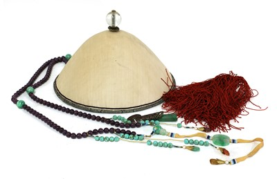 Lot 219-A Chinese official's hat