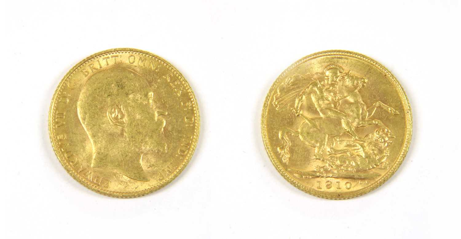 Lot 25-Coins, Great Britain, Edward VII (1901-1910)