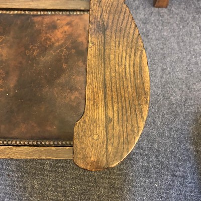 Lot 224 - A pair of rare Arts and Crafts oak armchairs