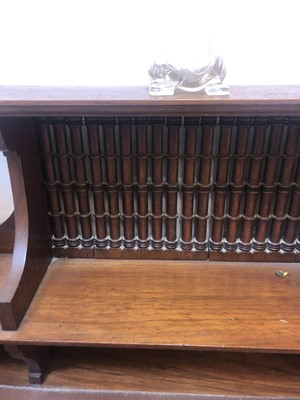Lot 47-A Liberty & Co. walnut desk