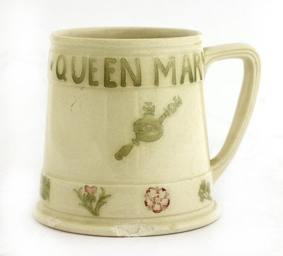 Lot 210 - A Moorcroft 1911 Coronation of King George V and Queen Mary mug